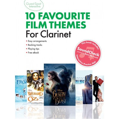 MUSIC SALES GUEST SPOT INTERACTIVE - 10 FAVOURITE FILM THEMES FOR CLARINET