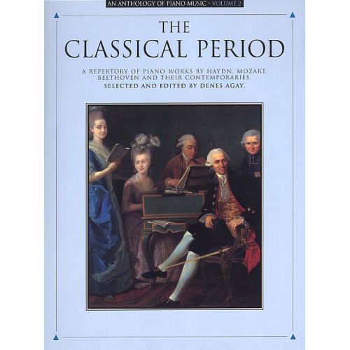 MUSIC SALES ANTHOLOGY OF PIANO MUSIC VOLUME 2 THE CLASSICAL PERIOD - PIANO SOLO