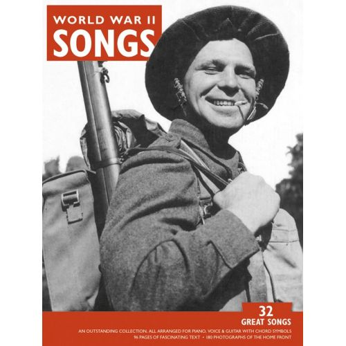 MUSIC SALES LEITCH MICHAEL - GREAT SONGS OF WORLD WAR TWO - PVG
