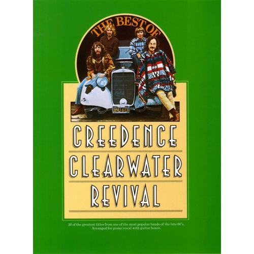 MUSIC SALES REVIVAL CREEDENCE - THE BEST OF CREEDENCE CLEARWATER REVIVAL - PVG