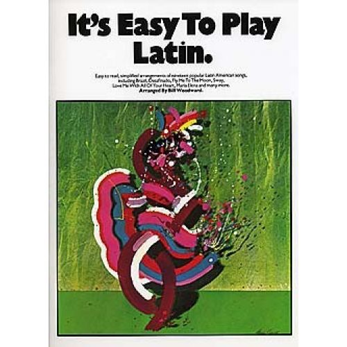MUSIC SALES IT'S EASY TO PLAY LATIN - PVG