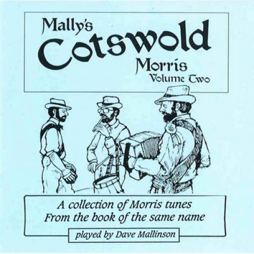 DAVE MALLISON PUBLICATIONS CD MALLY'S COTSWOLD MORRIS BOOK, VOL. 2 - FLUTE (OU AUTRE INSTR. MELODIQUE)