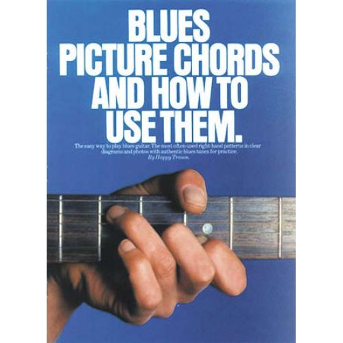 MUSIC SALES BLUES PICTURE CHORDS AND HOW TO USE THEM - GUITAR