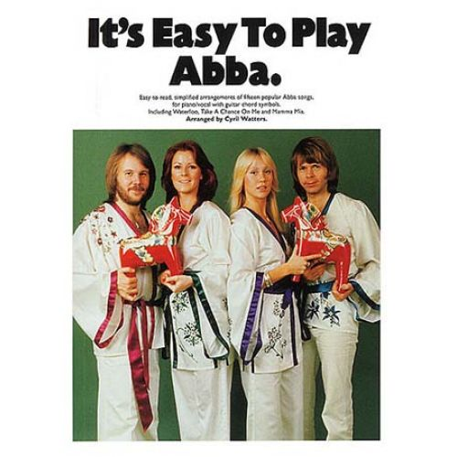 WISE PUBLICATIONS ABBA - IT'S EASY TO PLAY ABBA - PVG