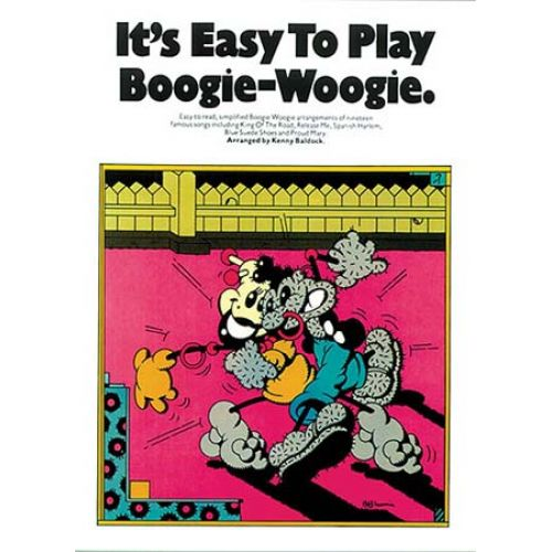 MUSIC SALES IT'S EASY TO PLAY BOOGIE-WOOGIE - PIANO SOLO