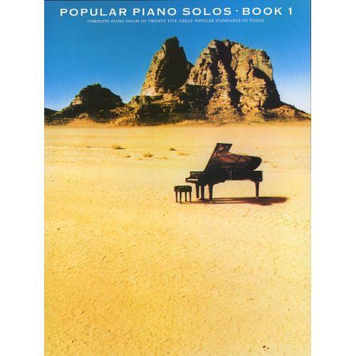 MUSIC SALES POPULAR PIANO SOLOS BOOK 1 - PIANO SOLO