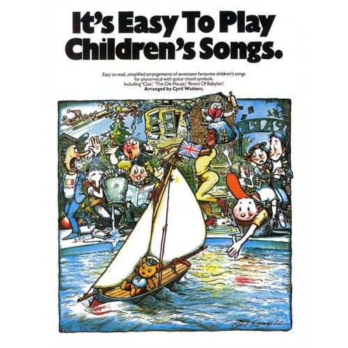 MUSIC SALES IT'S EASY TO PLAY CHILDREN'S SONGS FOR PIANO - PVG