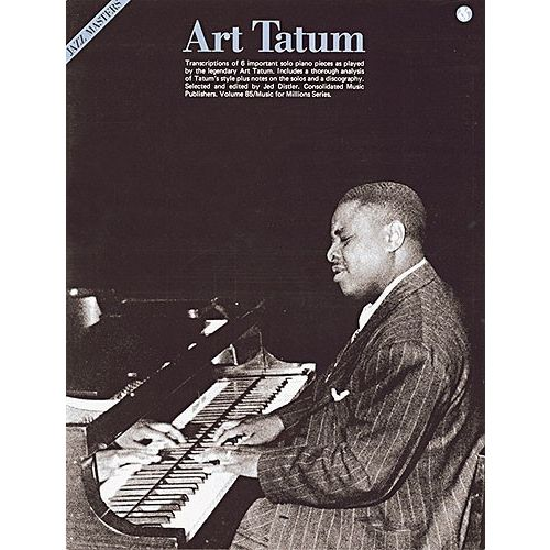 MUSIC SALES ART TATUM JAZZ MASTERS SERIES - PIANO SOLO AND GUITAR