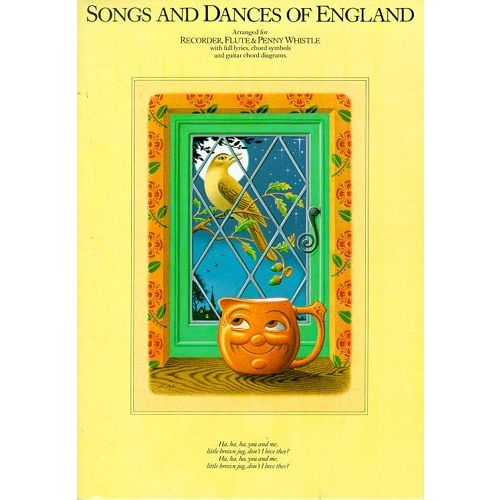 MUSIC SALES SONGS AND DANCES OF ENGLAND - C INSTRUMENTS