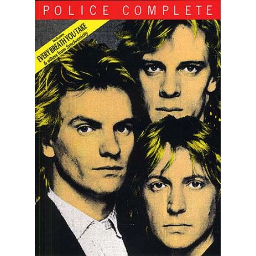 MUSIC SALES THE POLICE - COMPLETE - PVG
