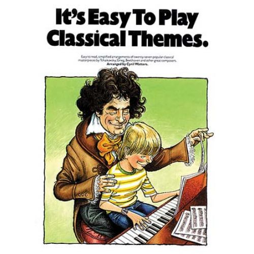 MUSIC SALES IT'S EASY TO PLAY CLASSICAL THEMES - PIANO SOLO