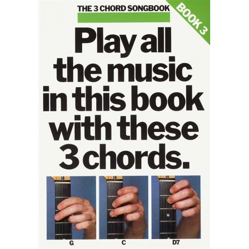 MUSIC SALES THE 3 CHORD SONGBOOK - LYRICS AND CHORDS