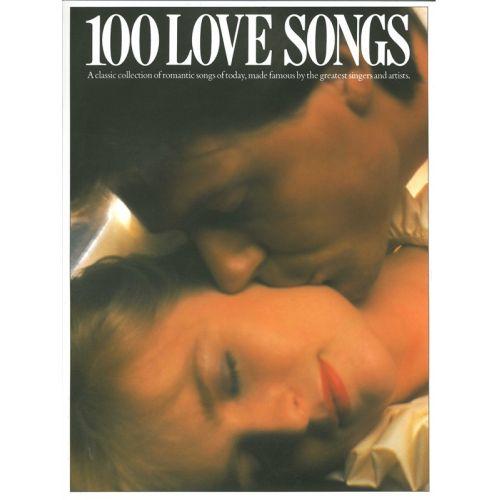 MUSIC SALES 100 LOVE SONGS - PVG