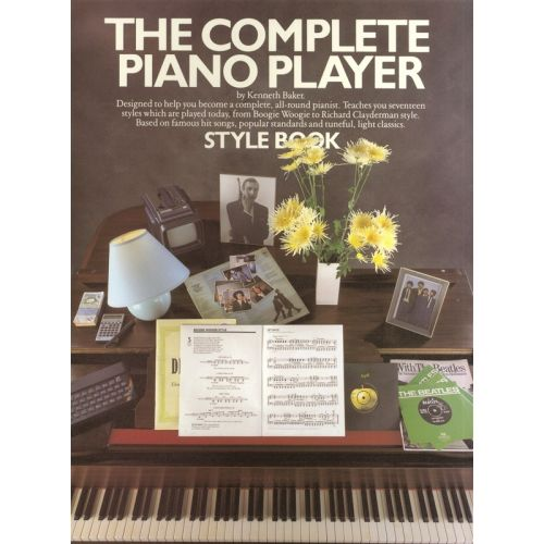 MUSIC SALES BAKER KENNETH - THE COMPLETE PIANO PLAYER STYLE- PVG
