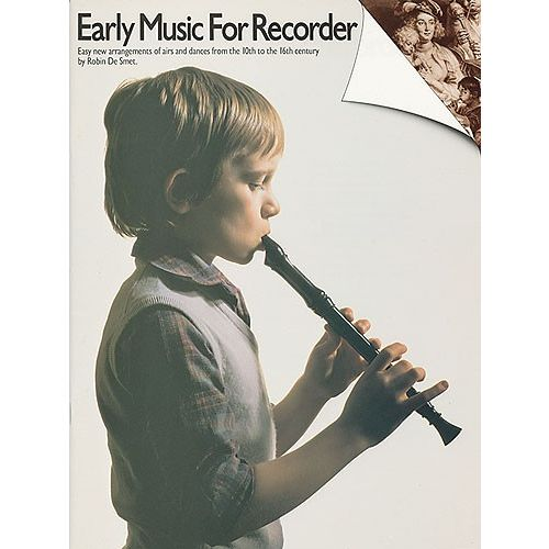 MUSIC SALES EARLY MUSIC FOR RECORDER - RECORDER