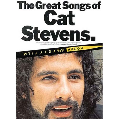 MUSIC SALES STEVENS CAT - THE GREAT SONGS OF CAT STEVENS - PVG