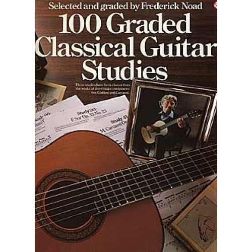 MUSIC SALES 100 GRADED CLASSICAL GUITAR STUDIES - GUITAR