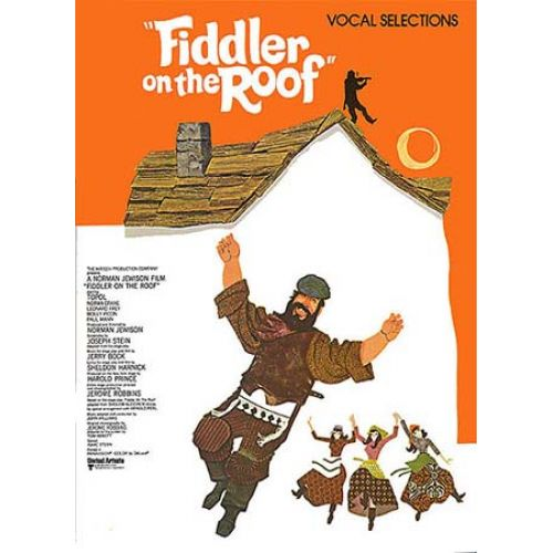 WISE PUBLICATIONS FIDDLER ON THE ROOF VOCAL SELECTIONS JERRY BOCK PVG