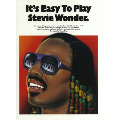 MUSIC SALES WONDER STEVIE - IT'S EASY TO PLAY STEVIE WONDER - PVG