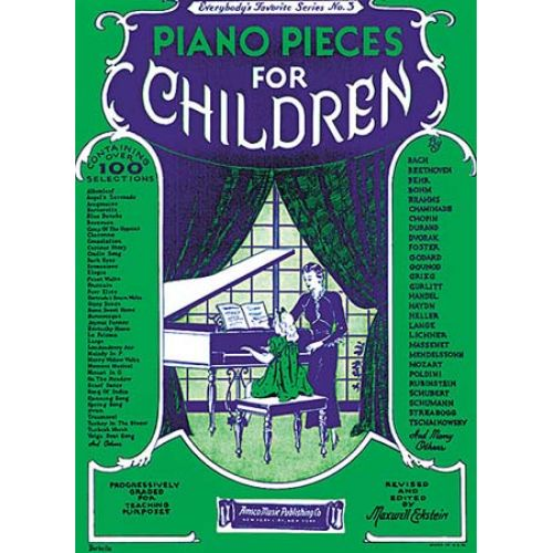 MUSIC SALES ECKSTEIN MAXWELL - PIANO PIECES FOR CHILDREN - EVERYBODY'S FAVORITE SERIES NO. 3 - PIANO SOLO
