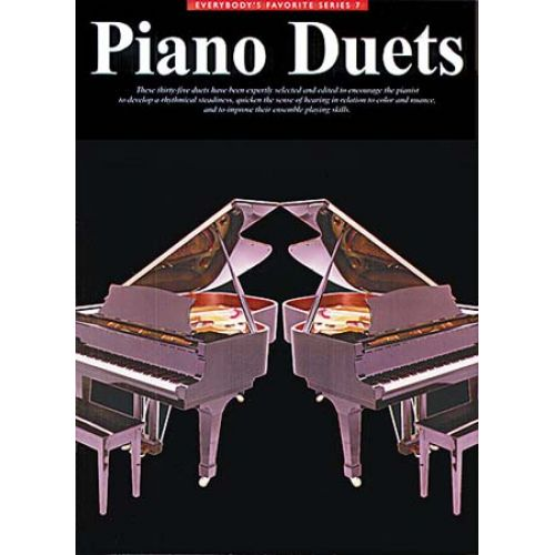 MUSIC SALES ECHSTEIN ED - EVERYBODY'S FAVORITE PIANO DUETS - PIANO DUET