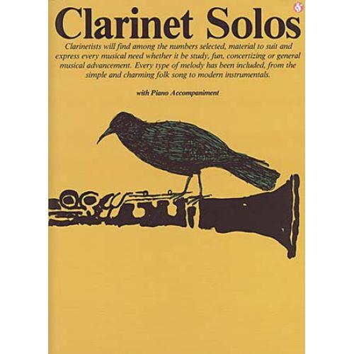 MUSIC SALES CLARINET SOLOS - CLARINET