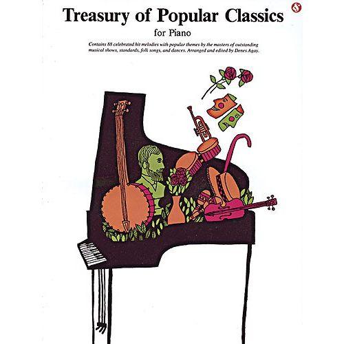 MUSIC SALES AGAY DENES - TREASURY OF POPULAR CLASSICS- PIANO SOLO