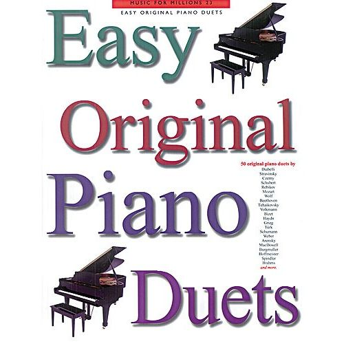 MUSIC SALES MUSIC FOR MILLIONS VOL 23 EASY ORIGINAL - PIANO DUET
