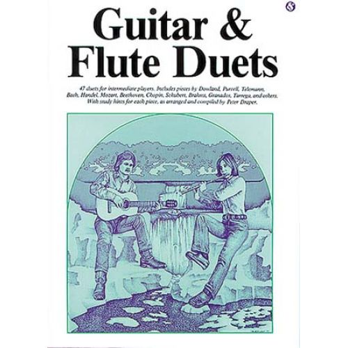 MUSIC SALES GUITAR AND FLUTE DUETS - GUITAR