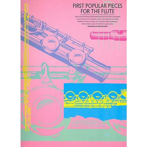 MUSIC SALES FIRST POPULAR PIECES - FLUTE