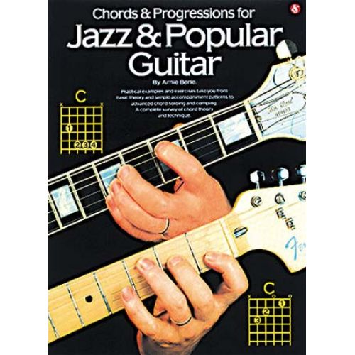 MUSIC SALES BERLE ARNIE - CHORDS AND PROGRESSIONS FOR JAZZ AND POPULAR GUITAR - GUITAR