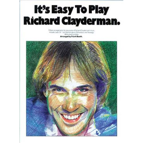 WISE PUBLICATIONS CLAYDERMAN RICHARD - IT'S EASY TO PLAY PIANO