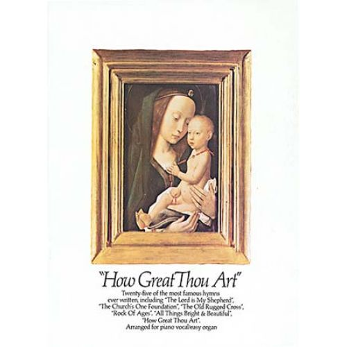 MUSIC SALES HOW GREAT THOU ART - PVG