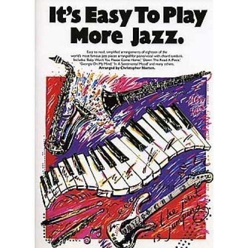 MUSIC SALES IT'S EASY TO PLAY JAZZ - PVG