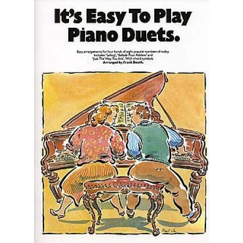 MUSIC SALES IT'S EASY TO PLAY PIANO DUETS - PIANO DUET