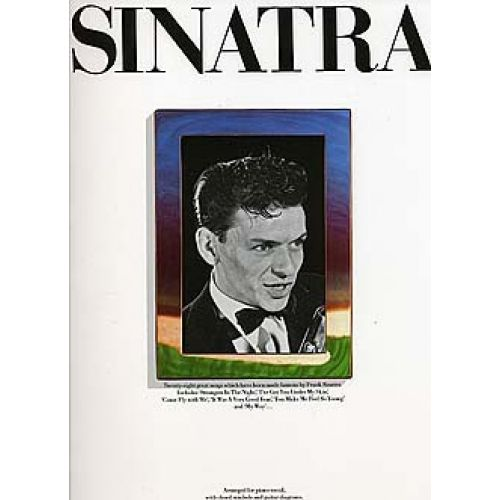 MUSIC SALES SINATRA FRANK - TWENTY-EIGHT GREAT SONGS WHICH HAVE BEEN MADE FAMOUS - PVG