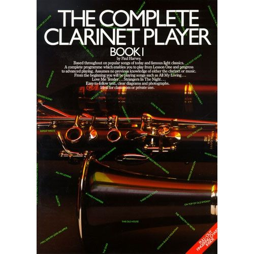 MUSIC SALES THE COMPLETE CLARINET PLAYER BOOK 1 CLT- CLARINET