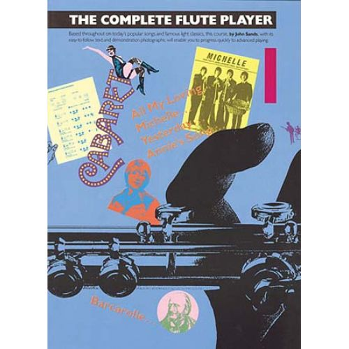MUSIC SALES THE COMPLETE FLUTE PLAYER BOOK 1 - FLUTE