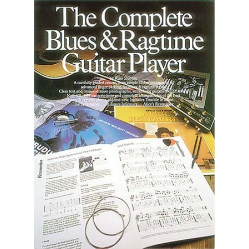 MUSIC SALES THE COMPLETE BLUES AND RAGTIME GUITAR PLAYER - GUITAR TAB