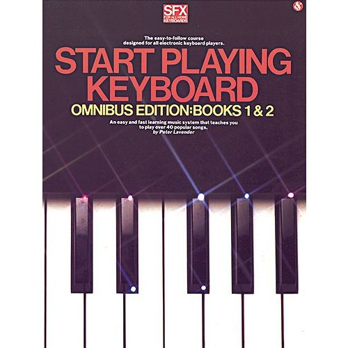 MUSIC SALES LAVENDER PETER - START PLAYING KEYBOARD - BOOKS 1 AND 2 - MELODY LINE, LYRICS AND CHORDS