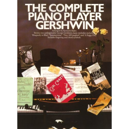 WISE PUBLICATIONS COMPLETE PIANO PLAYER GERSHWIN PVG - PIANO SOLO