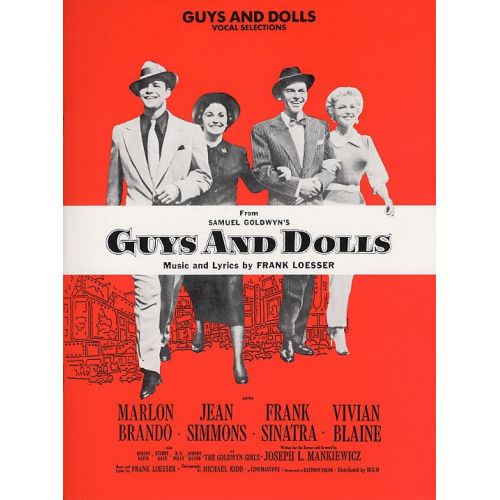 MUSIC SALES LOESSER FRANK - VOCAL SELECTIONS FROM GUYS AND DOLLS-MUSIC- PVG
