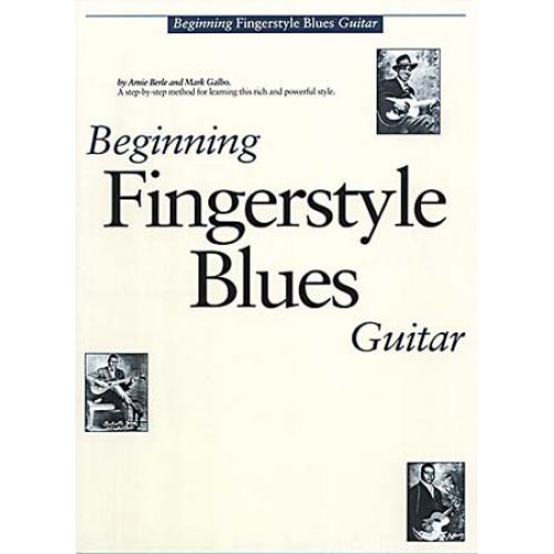 MUSIC SALES BEGINNING FINGERSTYLE BLUES GUITAR + CD - GUITAR