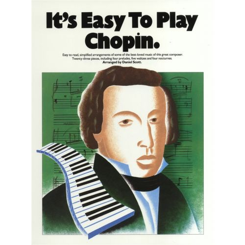 MUSIC SALES IT'S EASY TO PLAY - CHOPIN - PIANO SOLO