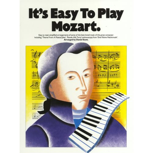 MUSIC SALES IT'S EASY TO PLAY MOZART - PIANO SOLO