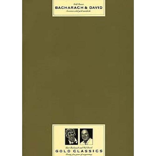 MUSIC SALES BACHARACH AND DAVID - PVG