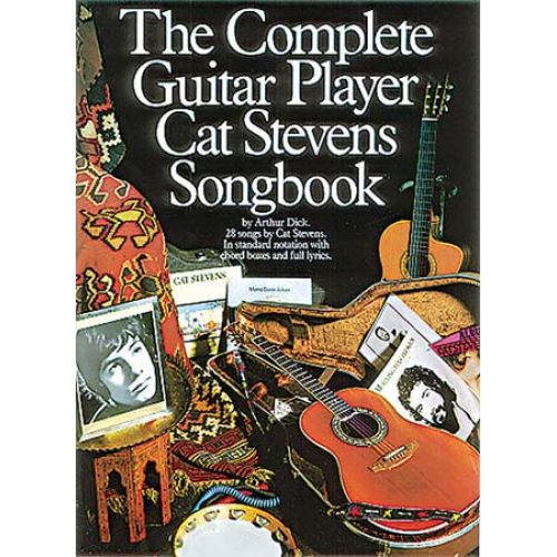 MUSIC SALES THE COMPLETE GUITAR PLAYER CAT STEVENS SONGBOOK MLC- MELODY LINE, LYRICS AND CHORDS