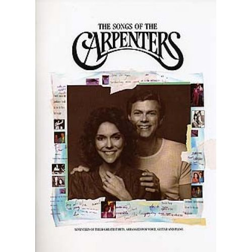 MUSIC SALES CARPENTERS - SONGS OF THE CARPENTERS - PVG
