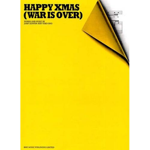 MUSIC SALES LENNON/ONO - HAPPY XMAS WAR IS OVER - PVG