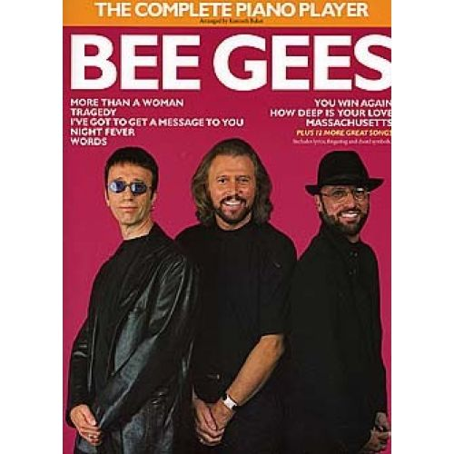 MUSIC SALES THE COMPLETE PIANO PLAYER - BEE GEES - PVG